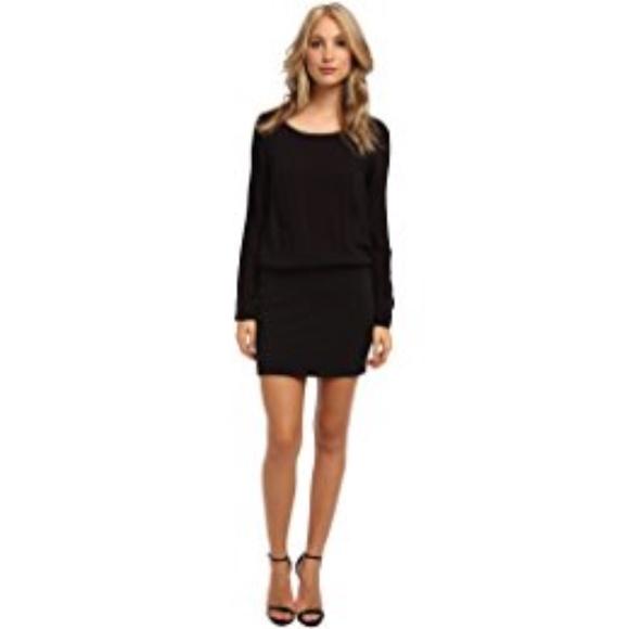 For Sale Splendid Woman Cold-shoulder Washed-crepe Dress Black Size XS Splendid Clearance Factory Outlet Discounts For Sale Visit New qaV5iANX